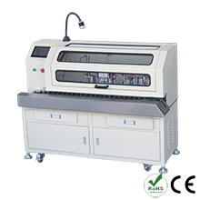 Automatic brush shield twist weave and aluminum foil strip machine