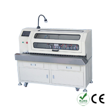 Automatic brush shield twist weave and strip core machine