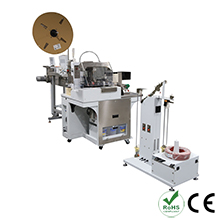Automatic Wire Crimp Seal and Tin Solder Machine