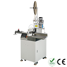 Automatic Single Side Wire Crimping Machine