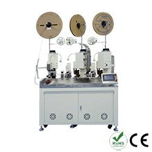 Fully Automatic Three Wire Joint Crimping Machine
