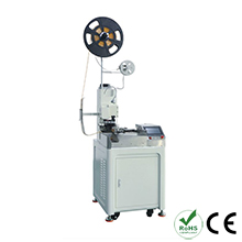 Automatic Single Head Plastic Shell Terminal Crimping and Twisting Machine