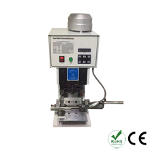 Flat cable piercing crimping machine