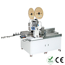 Automatic 5 Wires Double Head Wire Crimping Machine