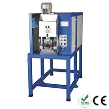 Three Flat Pin Plug Crimping Machine